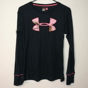 Pink Camo Under Armour Thermal